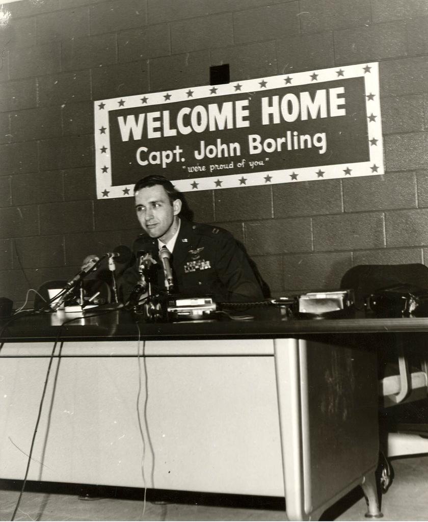 Captain John Borling, 1973